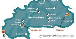 Golden Hill, Burkina Faso: 34m grading 6.08g/t gold from 4m depth (GHDD-026)