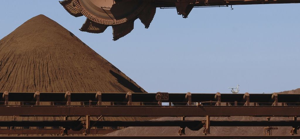 Australia's iron ore royalty steps out, and up