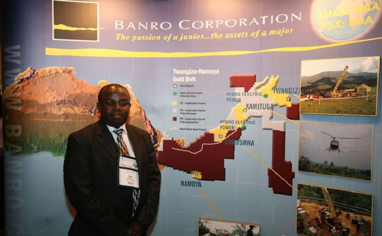 Banro continues its slide