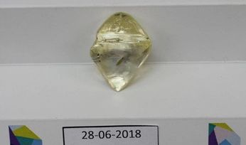 Lucapa recovers 89ct yellow diamond at Mothae