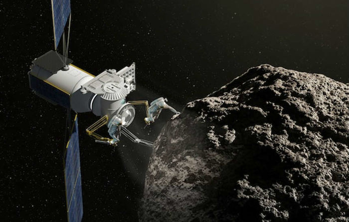 """They plan to begin mining the asteroids in the next couple of years"""