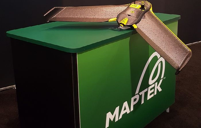 Maptek joins with drone maker