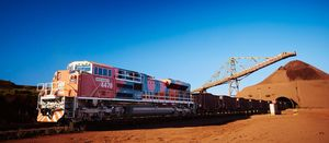 BHP forced to derail runaway iron ore train