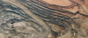 Barrick flags lower copper price