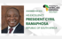 President Cyril Ramaphosa confirmed to attend Mining Indaba