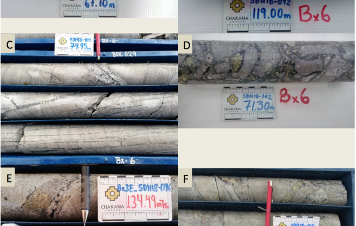 Chakana continues to show grade as tests breccia pipes