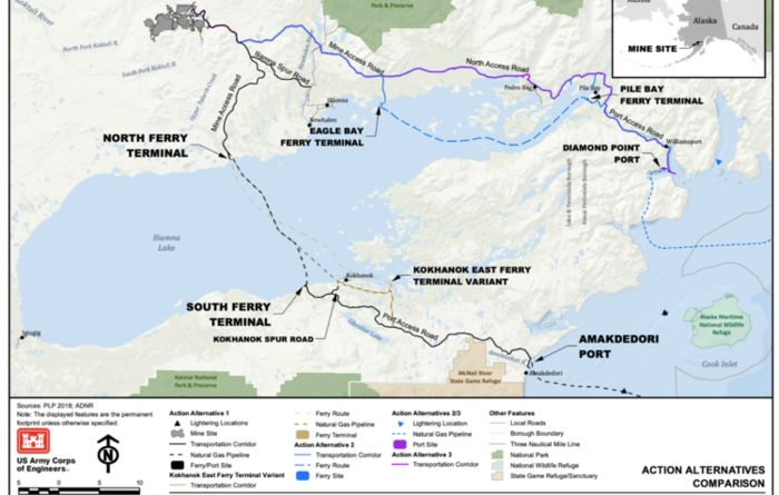 Northern Dynasty welcomes USACE's land-based Pebble access route