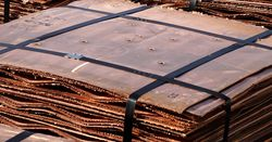 Trade war threatens copper's comeback