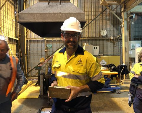 Profit growth for rising Australian gold miner