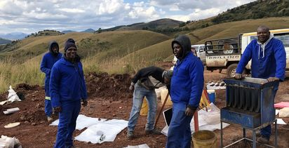Theta's triumphant return to forgotten South Africa gold rush site