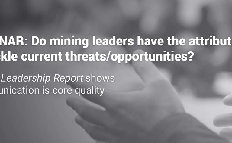 Miners not focusing on the right leadership skills