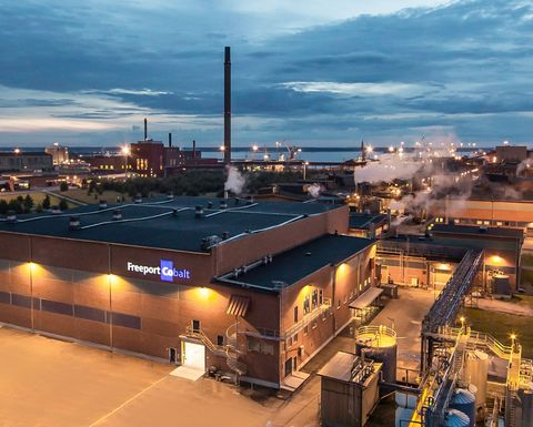 Umicore acquires Freeport's Kokkola refinery