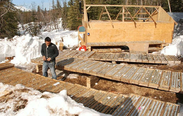Hat, Canada: 456.28m grading 0.2g/t Au, 0.24% Cu and 0.5g/t Ag from 56.7m (H-23)