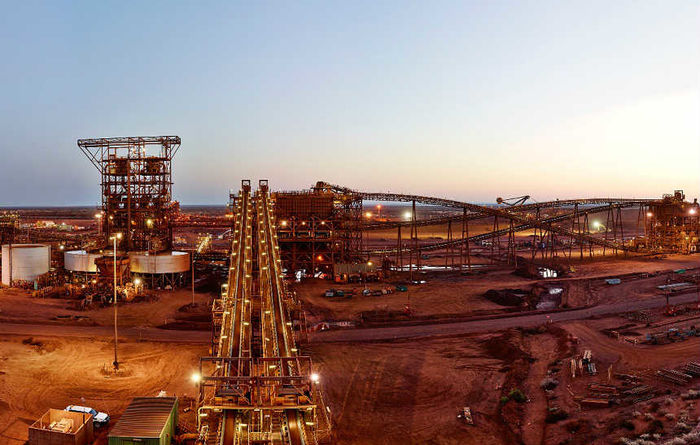 Iron ore boosts FMG