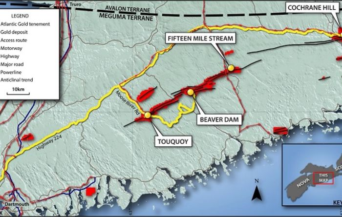 Atlantic Gold increases Moose River gold resources