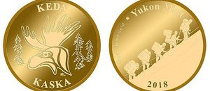 First Yukon Mint coins contain 3 Aces bulk sample gold