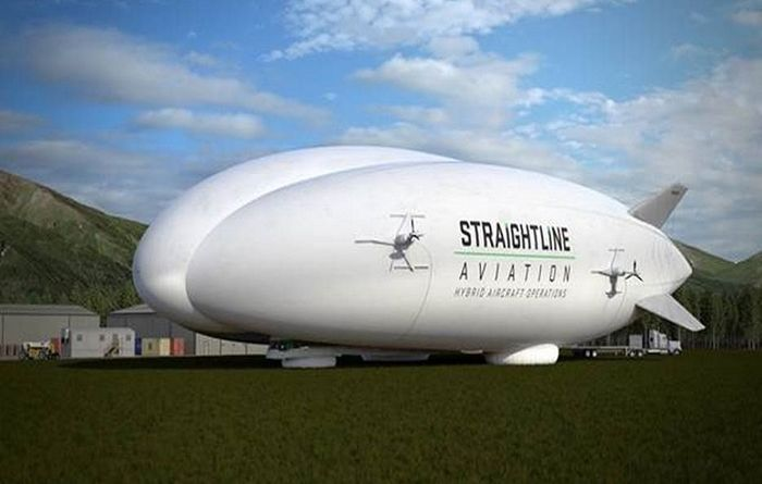 Lockheed airship sets sale