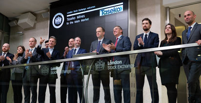Canada copper miner Taseko becomes the latest to join LSE