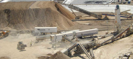 Northern Vertex commissions Moss crushing plant