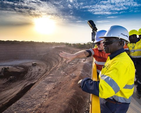 Barrick, Mali miners reassure as share prices tumble