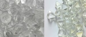 Visual comparison of rough lab-created diamonds (left) and natural (right).jpg