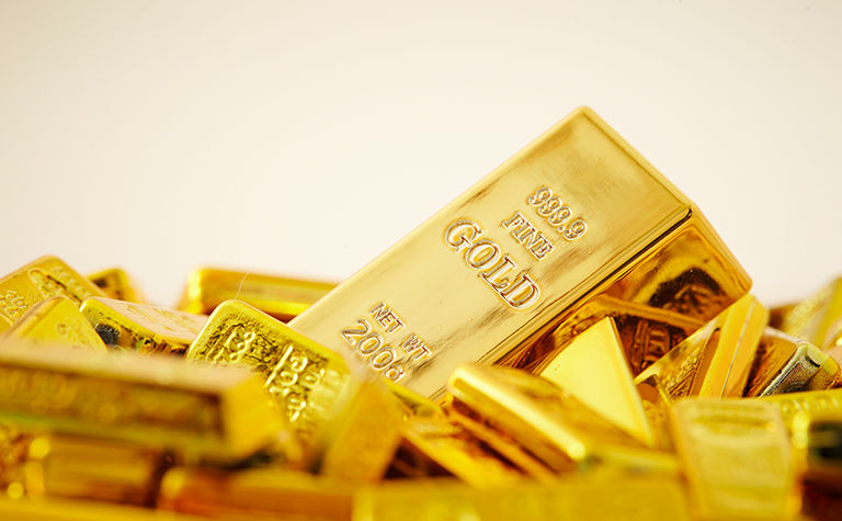 Gold at three-month high