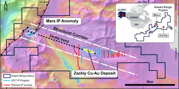 trending structural corridor between ars and ackly plotted on an image of aeromagnetic data draped on digital terrain ource olar