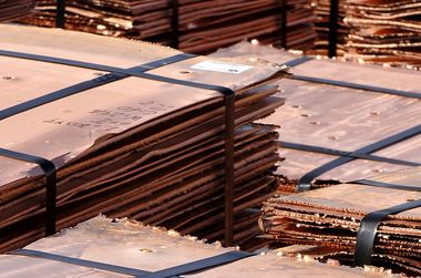 Bank says China Inc has copper timing right