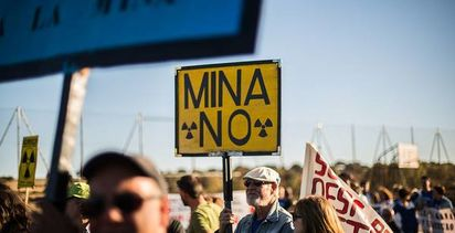 Spanish to protest against planned uranium mine