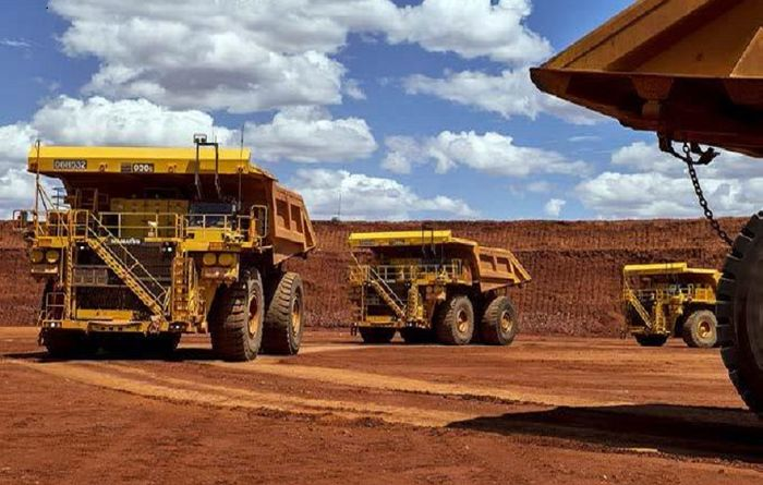 Iron ore defying gravity, for now