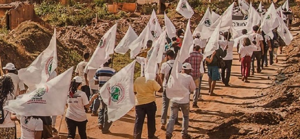 March underway to Brumadinho to mark year since fatal dam collapse