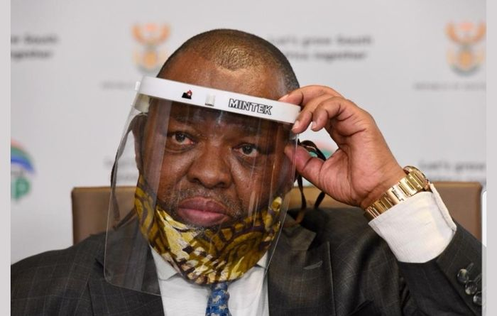 SA mines minister tests positive for COVID-19