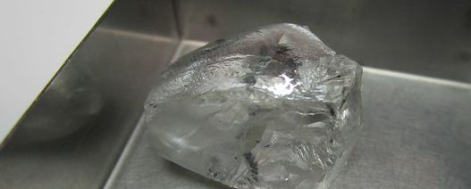 Firestone recovers 70ct white diamond