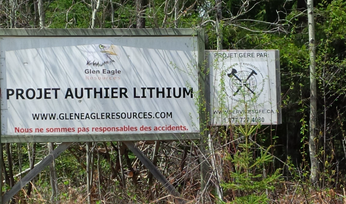 Authier lithium gets US$11.5M funding kick