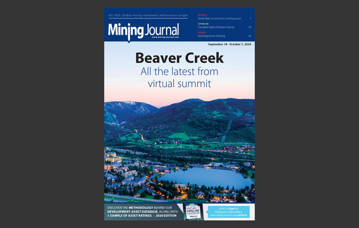 Mining Journal eMagazine: 18th September 2020