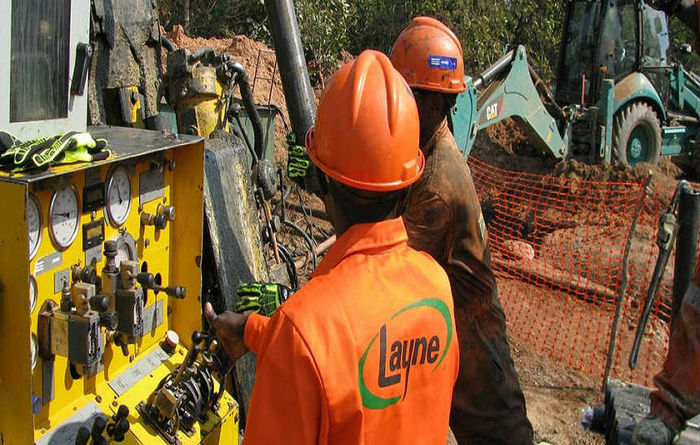 Layne minerals contracts in Q2