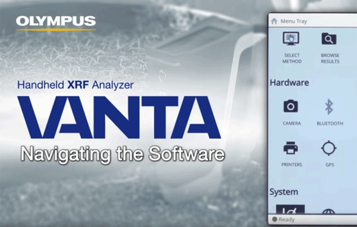 Video: Vanta Handheld XRF Analyzer | Navigating the Software