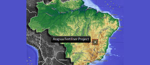 The KPfértil product will be supplied from stocks already produced at Harvest's Arapua project in Minas Gerais, Brazil