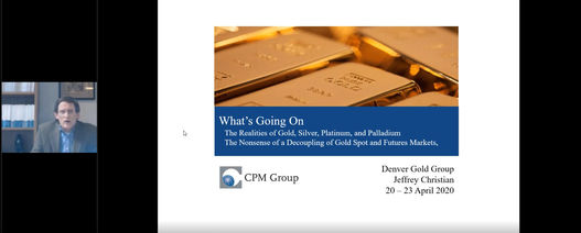 Gold into record-price territory, says CPM's Christian