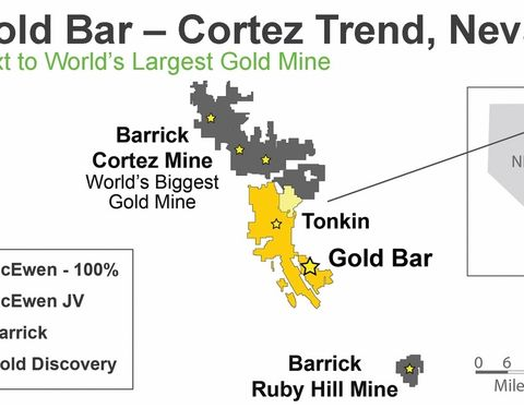McEwen banks on more Gold Bars