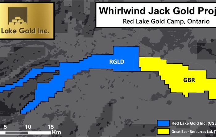 Red Lake doubles ground next to Great Bear