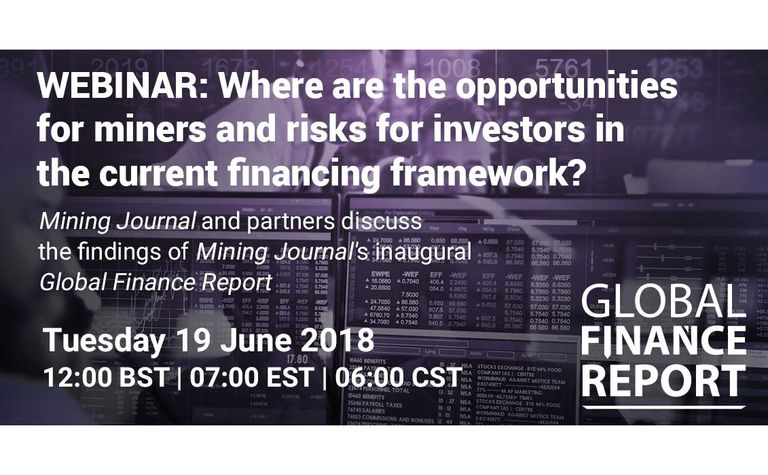 Where are the opportunities for miners in the current financing framework?