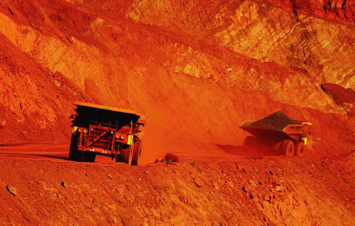 BHP's iron ore holds the fort