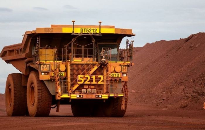 BHP up on iron ore outlook