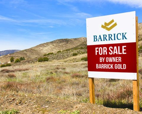 Asset sales a top-tier priority for New Barrick