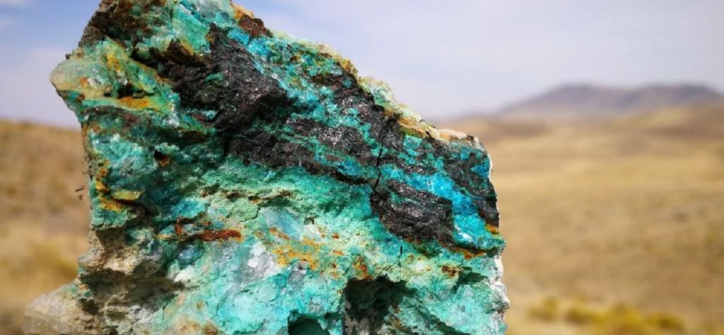 VR claims copper discovery