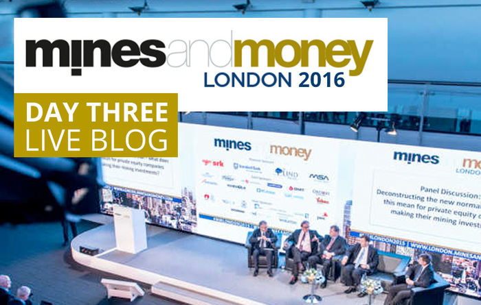 Live from Mines and Money London 2016: Day 3
