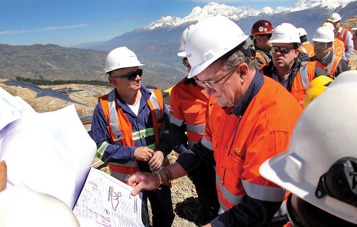 Barrick Gold, CEO Mark Bristow
