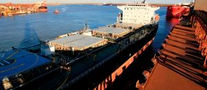 Record iron ore shipments from Pilbara