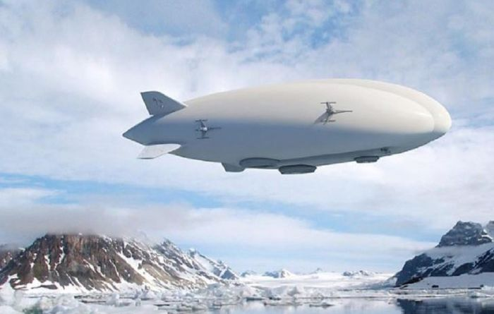 Airship plan sends stock soaring